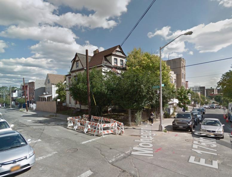 1808 Mohegan Avenue, via Google Maps