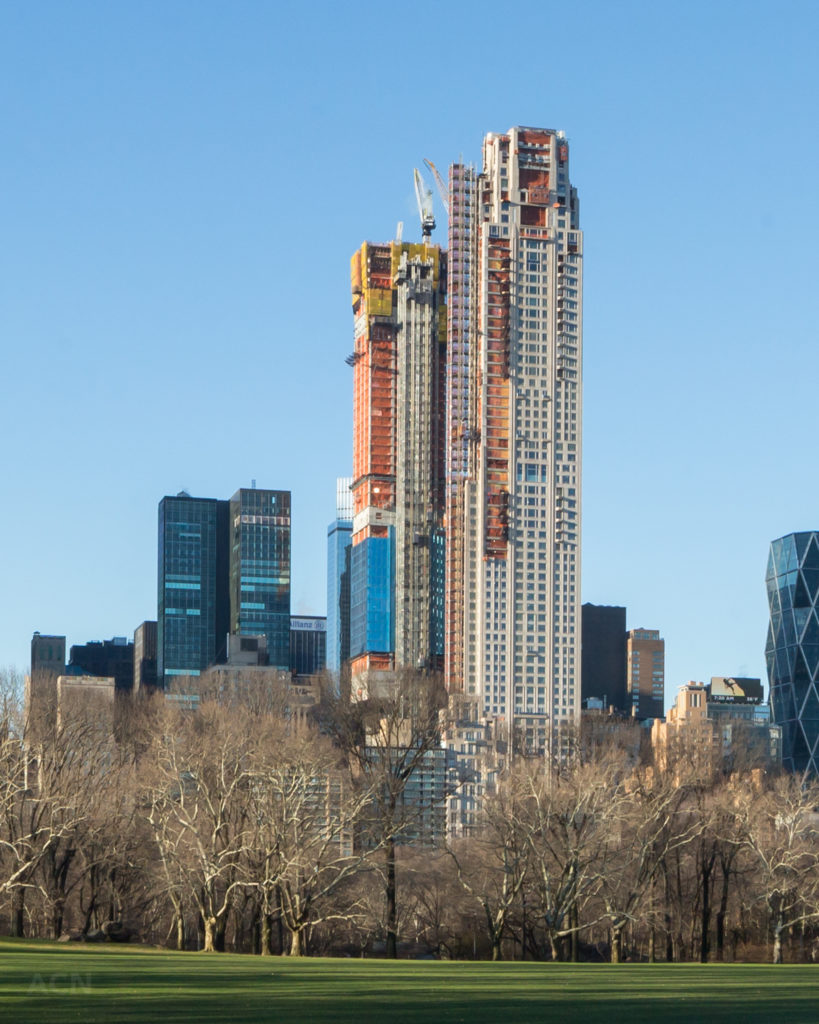 217 West 57th Street behind 220 Central Park South, by Andrew Campbell Nelson