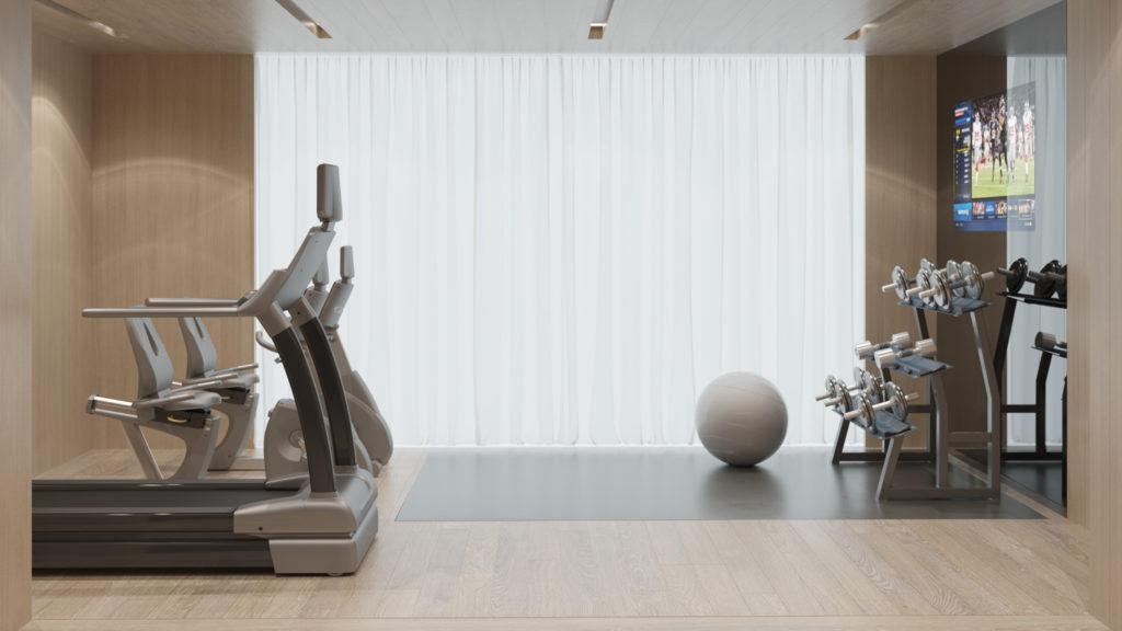225 14th Street Fitness, rendering by Heroes