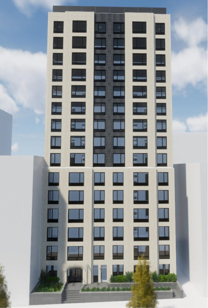 415 West 120th Street, rendering courtesy Cushman and Wakefield