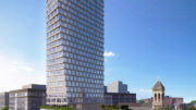 550 Clinton Avenue, rendering by Morris Adjmi Architects
