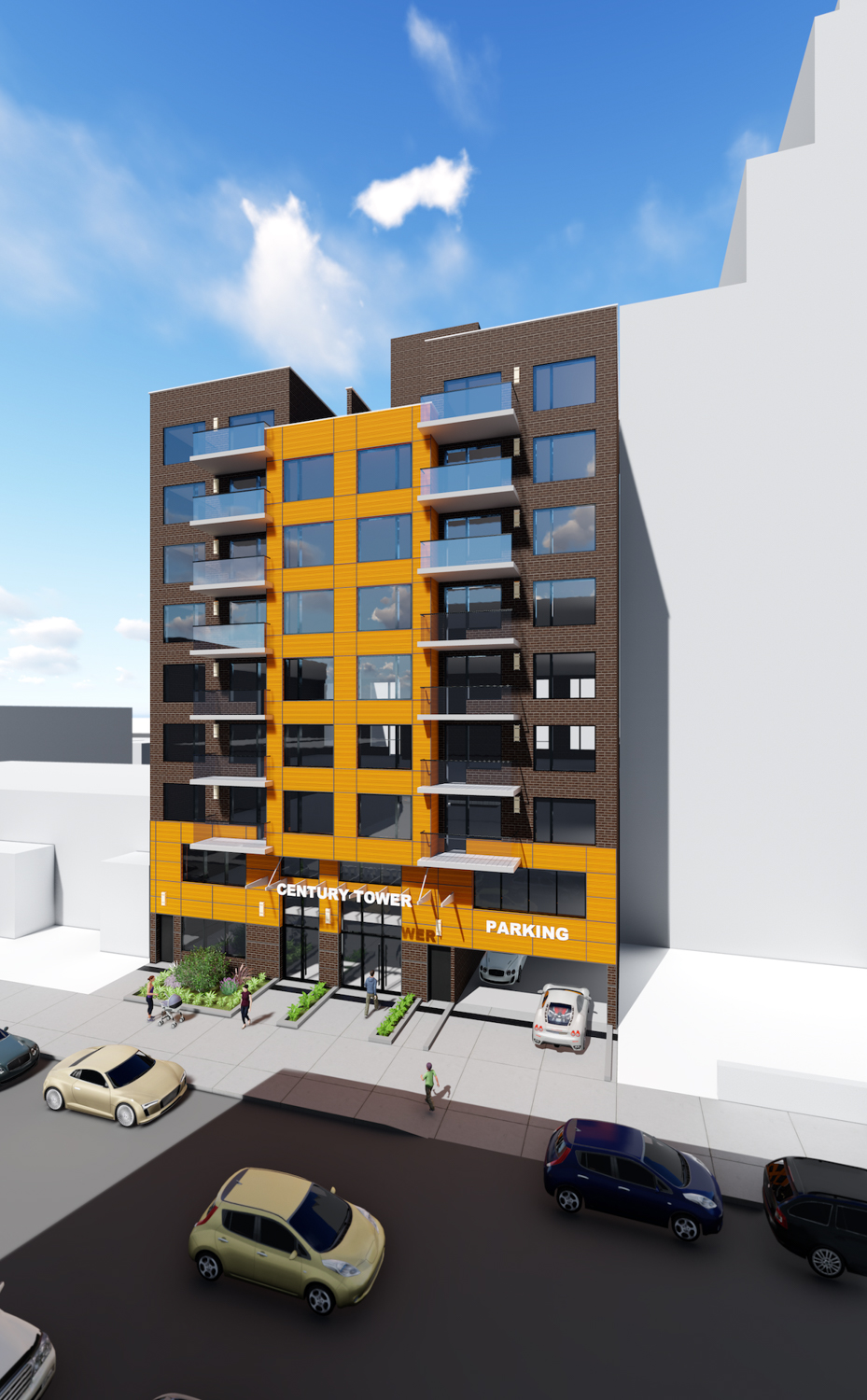 132-25, 27 41st Road, rendering courtesy NY Excelsior