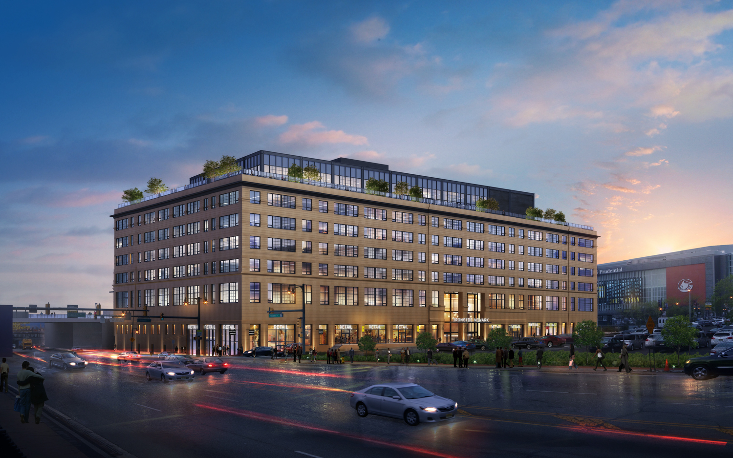 New Renderings For 500 000 Square Foot Office Project Ironside Newark