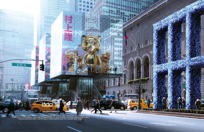 Winners Chosen For Fisher Brothersu0027 Park Avenue Design Competition Depict  Major Median Potential