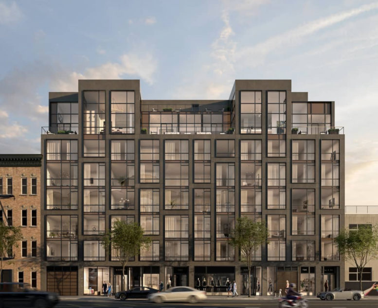 11-12 44th drive, rendering by Carbn NYC