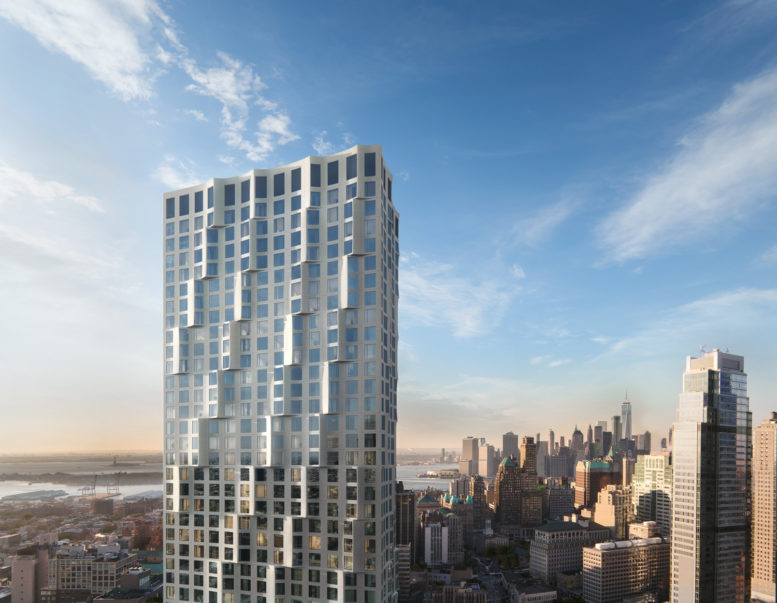 11 Hoyt, rendering courtesy Tishman Speyer