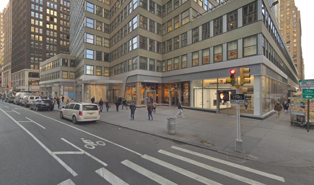 1407 Broadway ground floor, via Google Maps