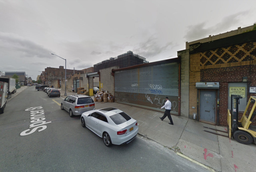 20 Spencer Street, via Google Maps