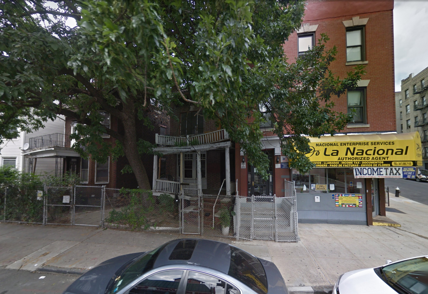 27 East 198th Street, via Google Maps