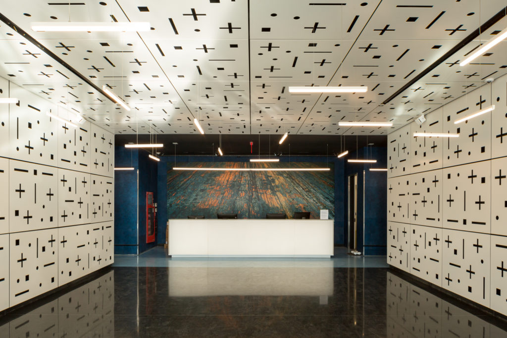 325 Kent Avenue Lobby, image by Andrew Campbell Nelson