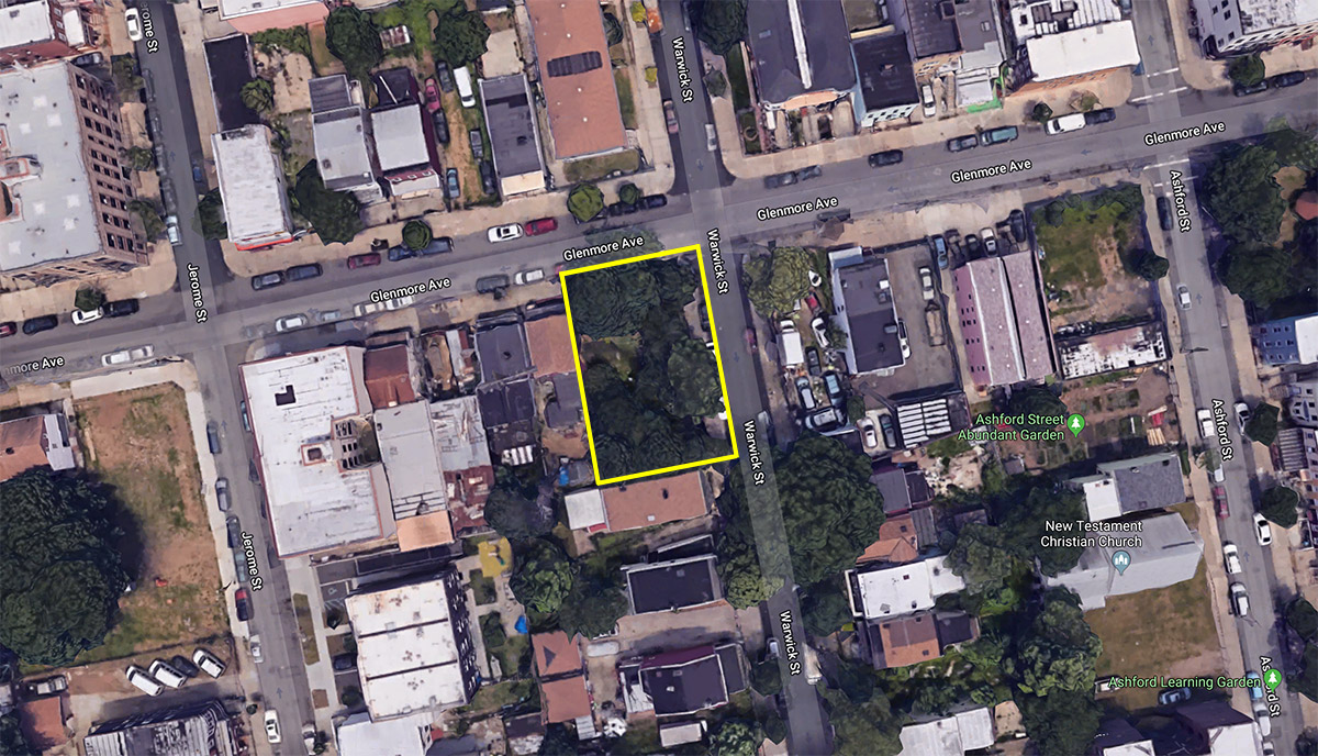 Permits Filed For Affordable Housing At 376 Warwick Street, East New York,  Brooklyn
