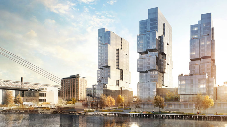 420 Kent Avenue waterfront, design by ODA New York