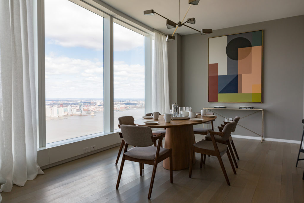 50 West Street penthouse space, image by Andrew Campbell Nelson