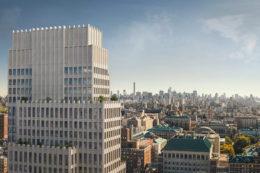 543 West 122nd Street, design by INC, rendering by Binyan Studios