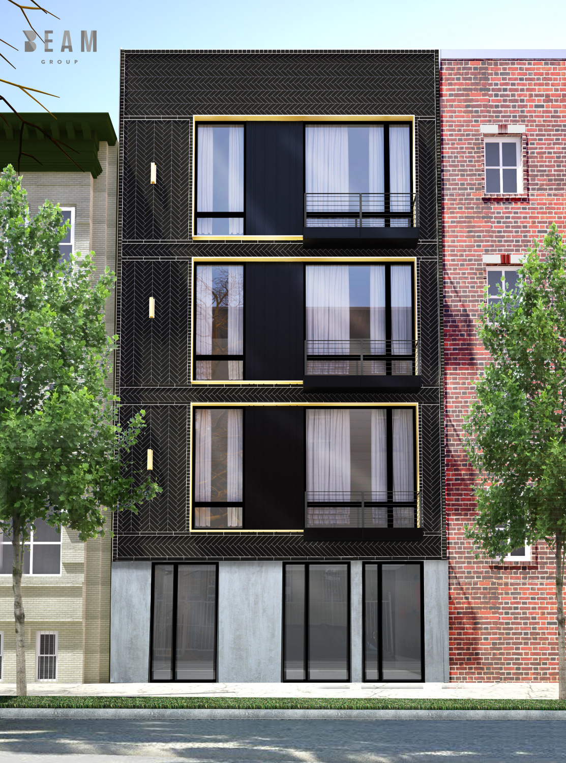 61 Troutman Street, rendering courtesy Beam Group