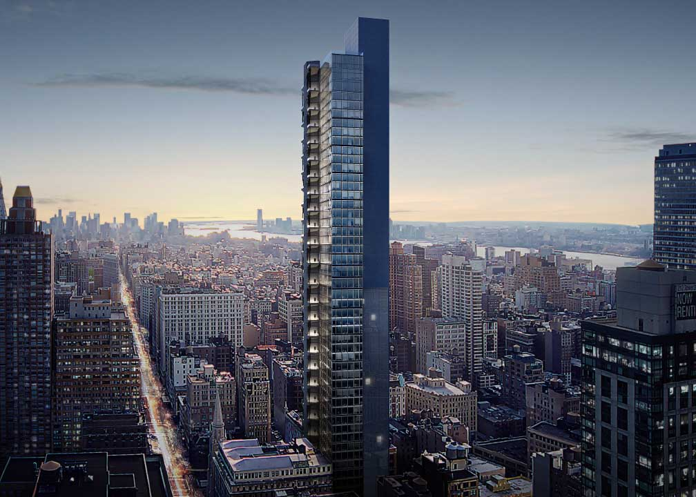 3 West 29th Street, rendering by BIG