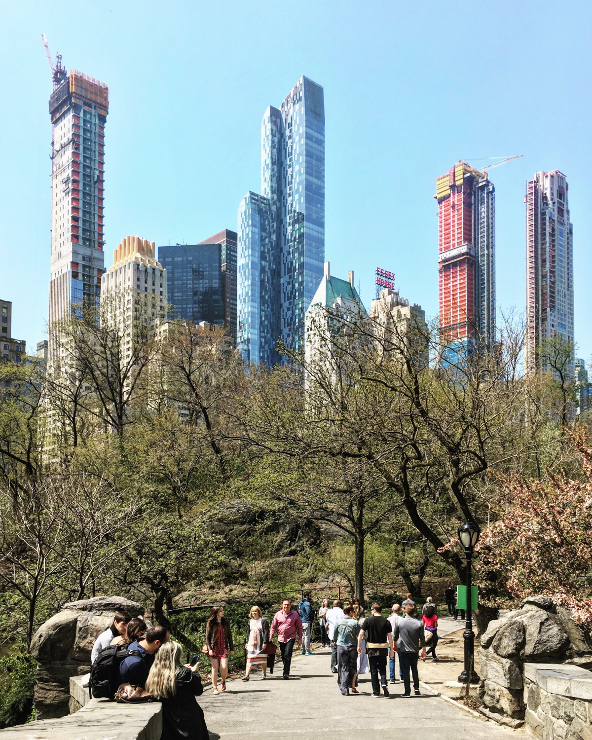 Cetral Park: Central Park Tower, Country's Tallest Building Under