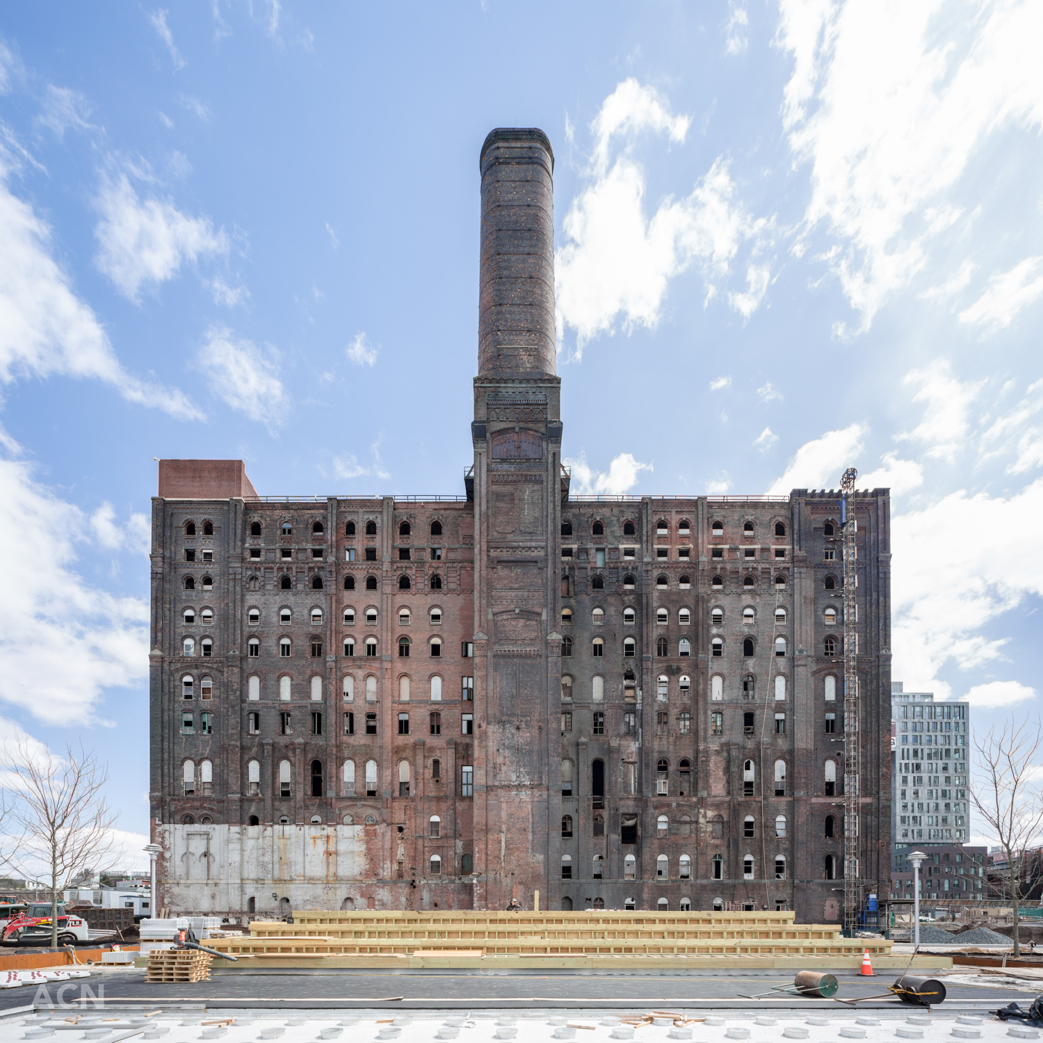Domino Sugar Refinery, image by Andrew Campbell Nelson