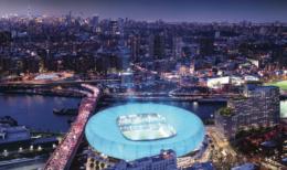 Harlem River Yards, image by Rafael Vinoly Architects