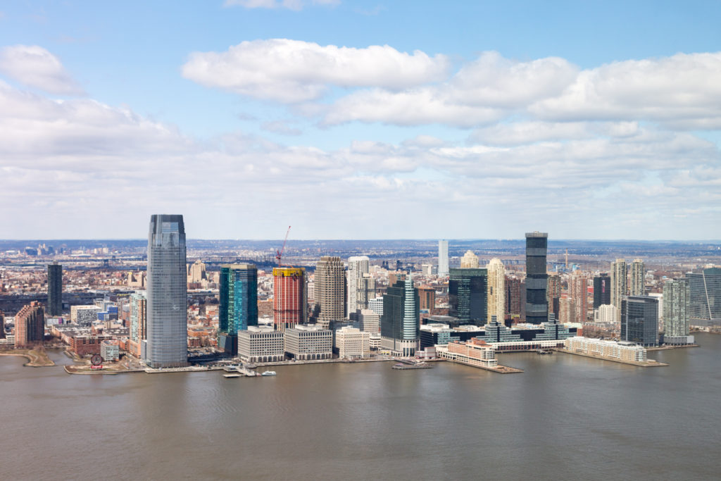 New Jersey as seen from 50 West Street, image by Andrew Campbell Nelson