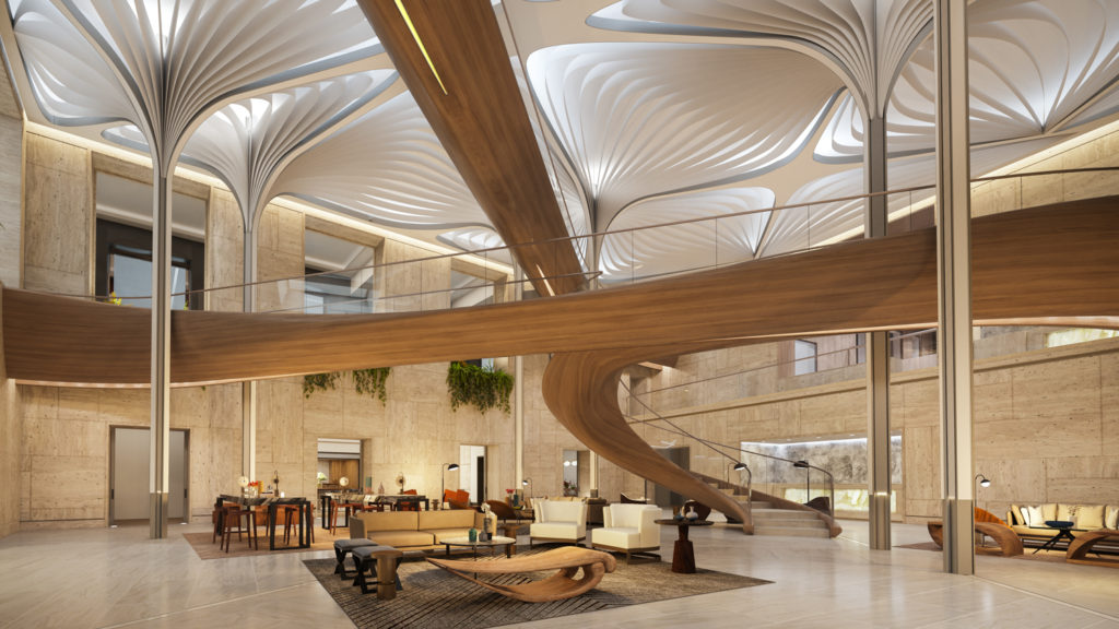 Nexus, Rendering by Noë Associates with The Boundary