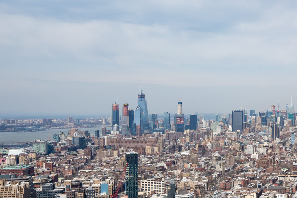 One Manhattan West and Hudson Yards, image by Andrew Campbell Nelson