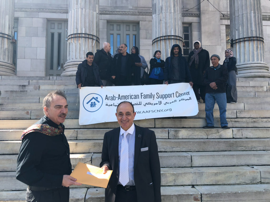 Petition Delivery, image courtesy the AAFSC