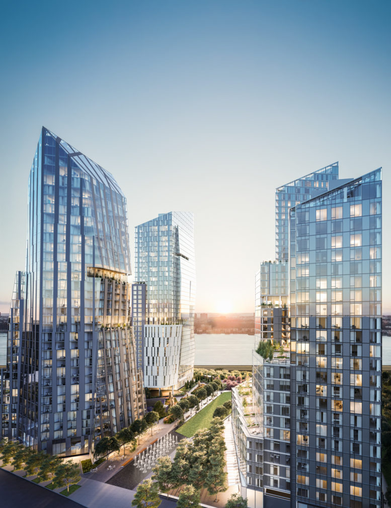 Gid Development Group Launches Leasing For Waterline Square On The Upper West Side New York Yimby