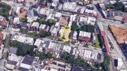 Aerial View of 171 and 173 Lefferts Place, via Google Maps