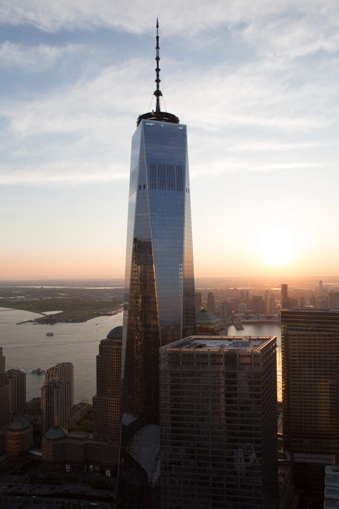1WTC from 30 Park Place, image by Andrew Campbell Nelson