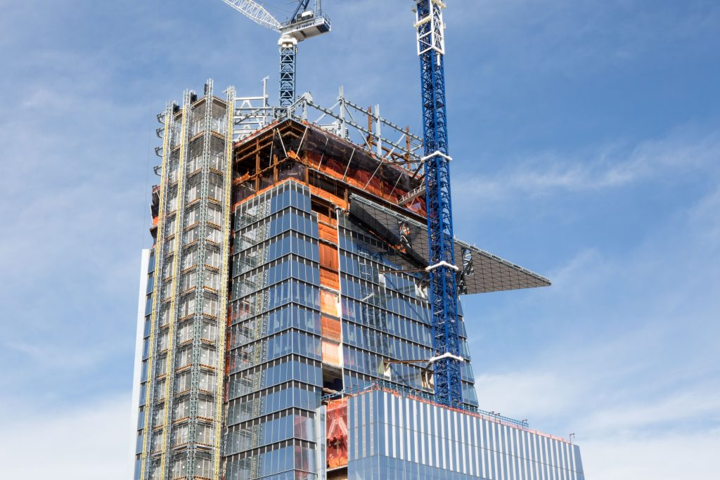 30 Hudson Yards' Observation Deck seen from 15 Hudson Yards, image by Andrew Campbell Nelson