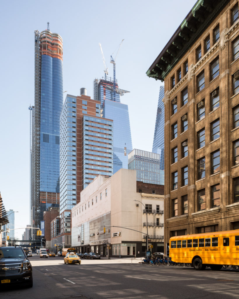 30 Hudson Yards from 11th Avenue, image by Andrew Campbell Nelson