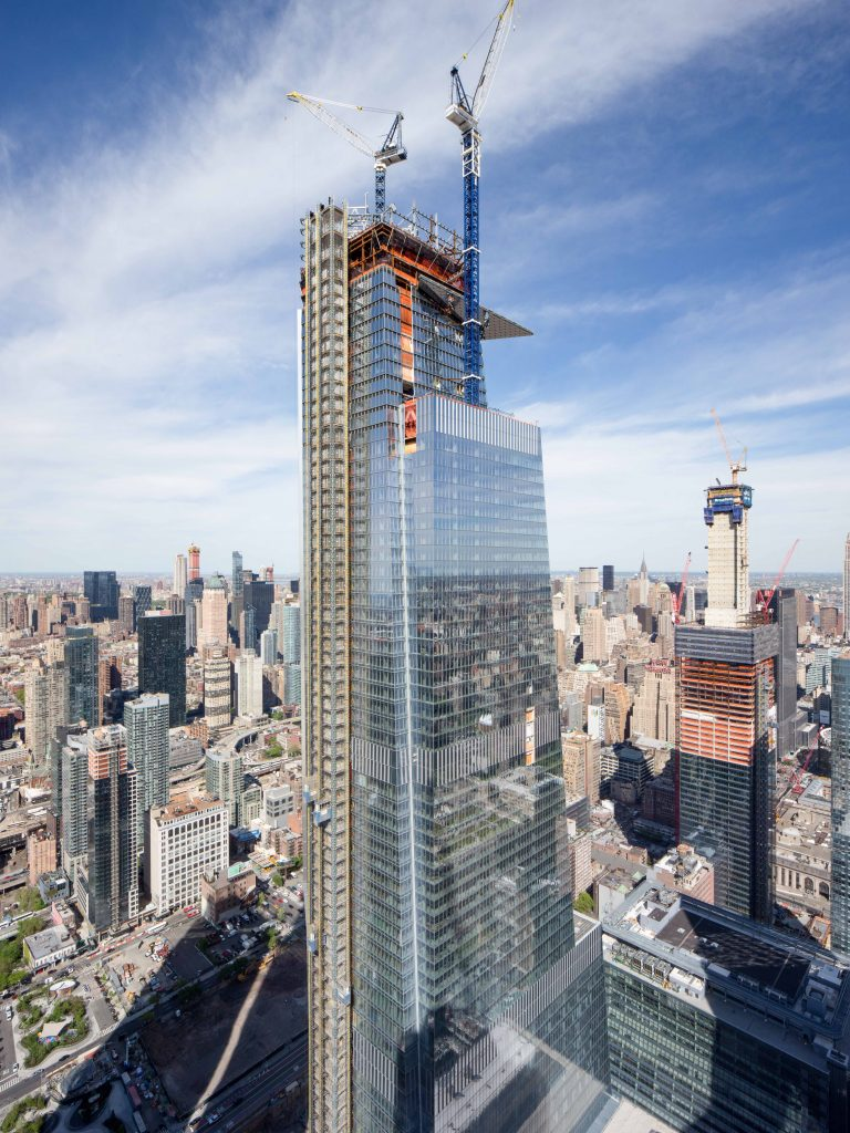 30 Hudson Yards from 15 Hudson Yards, image by Andrew Campbell Nelson