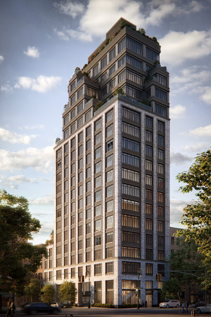 40 East End, rendering by Binyan Studios