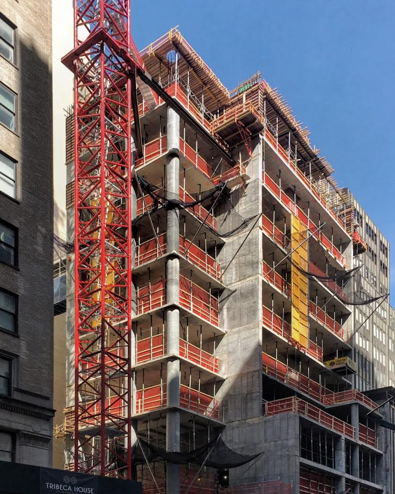 45P3 Sharif El-Gamal's 45 Park Place Begins Rise Into Lower Manhattan Skyline