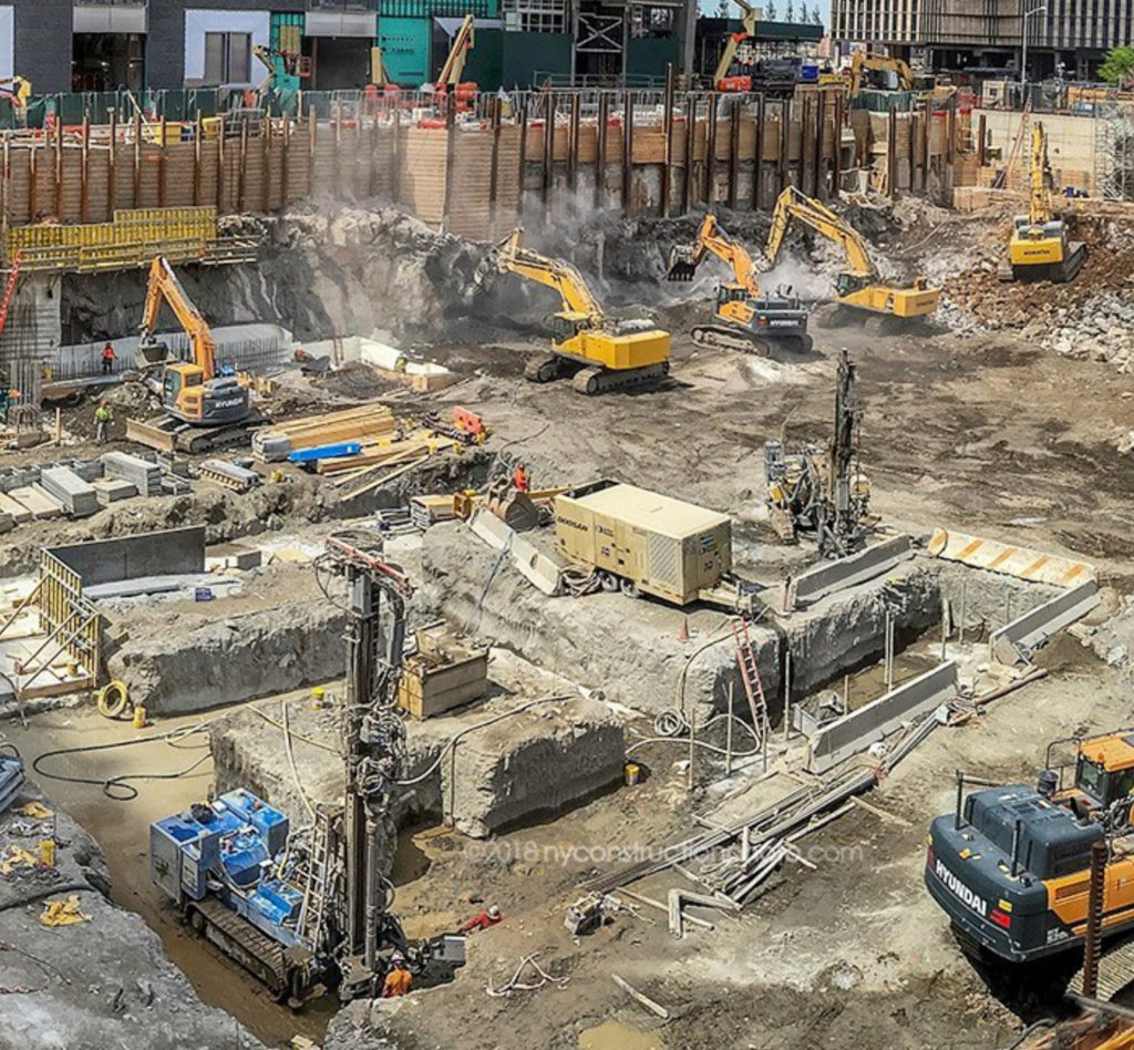 50 Hudson Yards construction site, image by NYConstructionPhoto