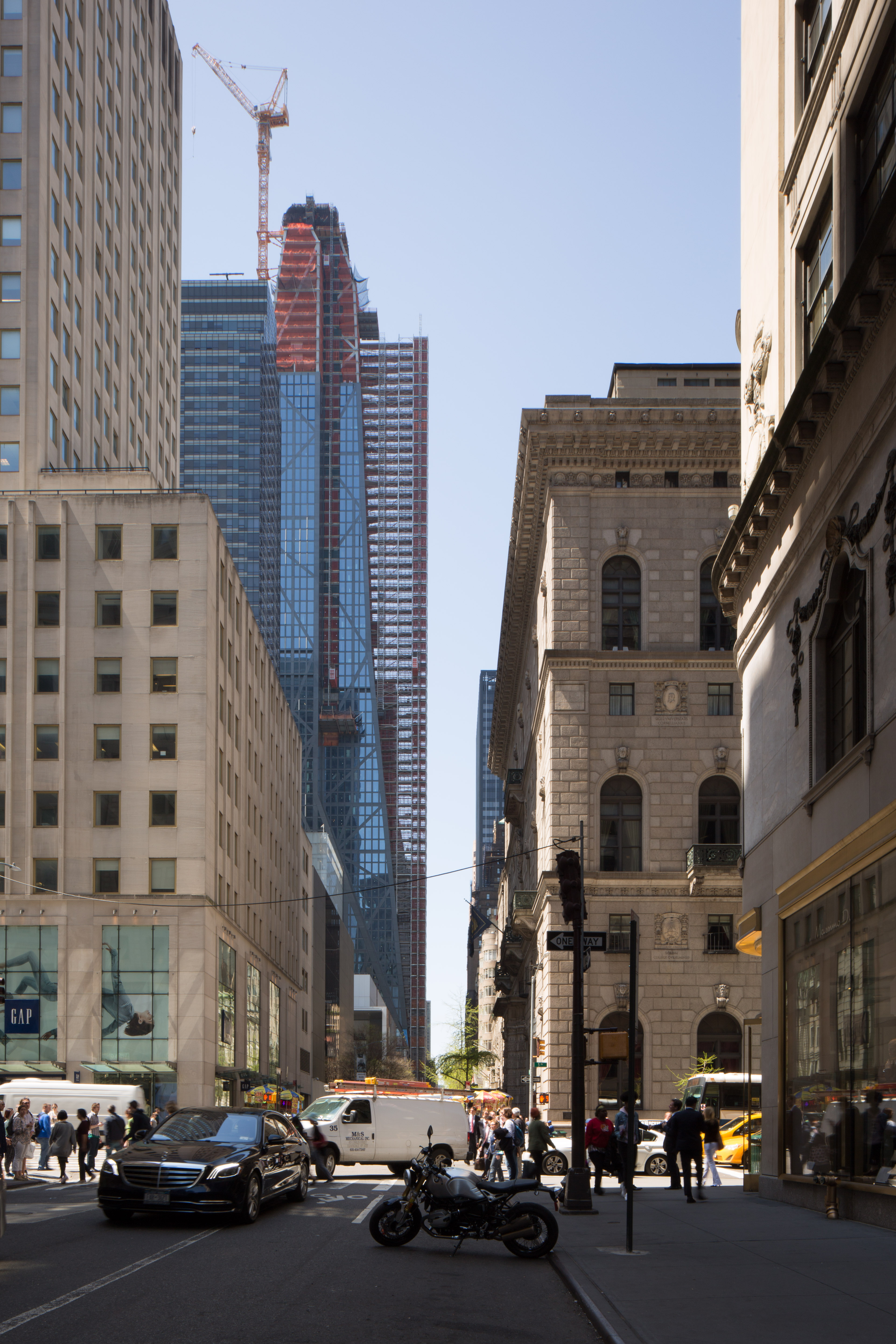 53W53 from 5th Avenue, image by Andrew Campbell Nelson