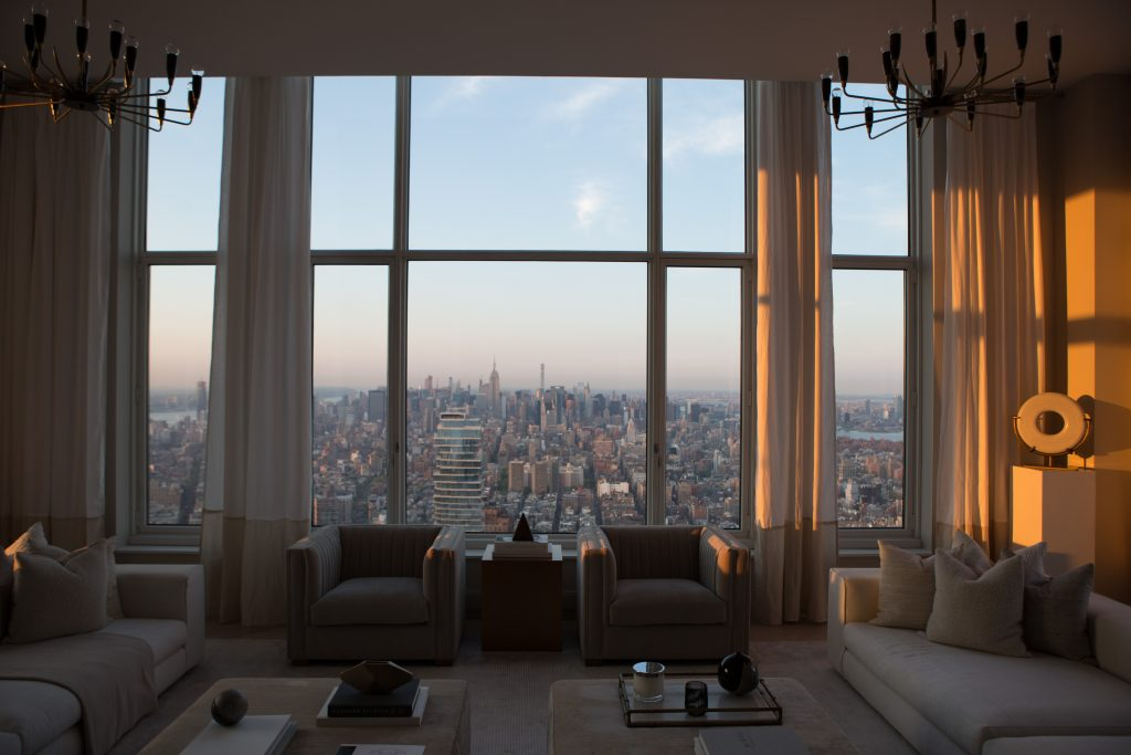 82nd Floor Penthouse in from 30 Park Place, image by Andrew Campbell Nelson