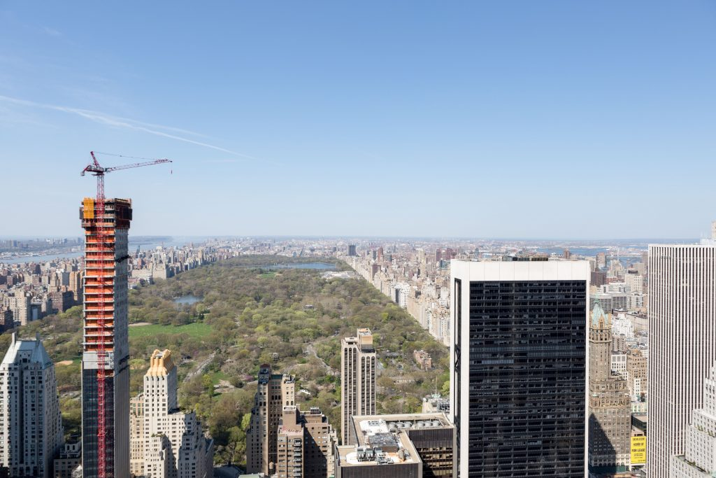 Central Park from 53W53, image by Andrew Campbell Nelson
