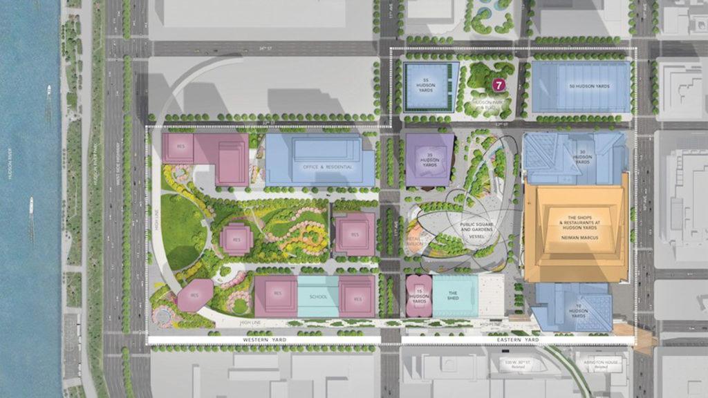 Hudson Yards' Master Plan