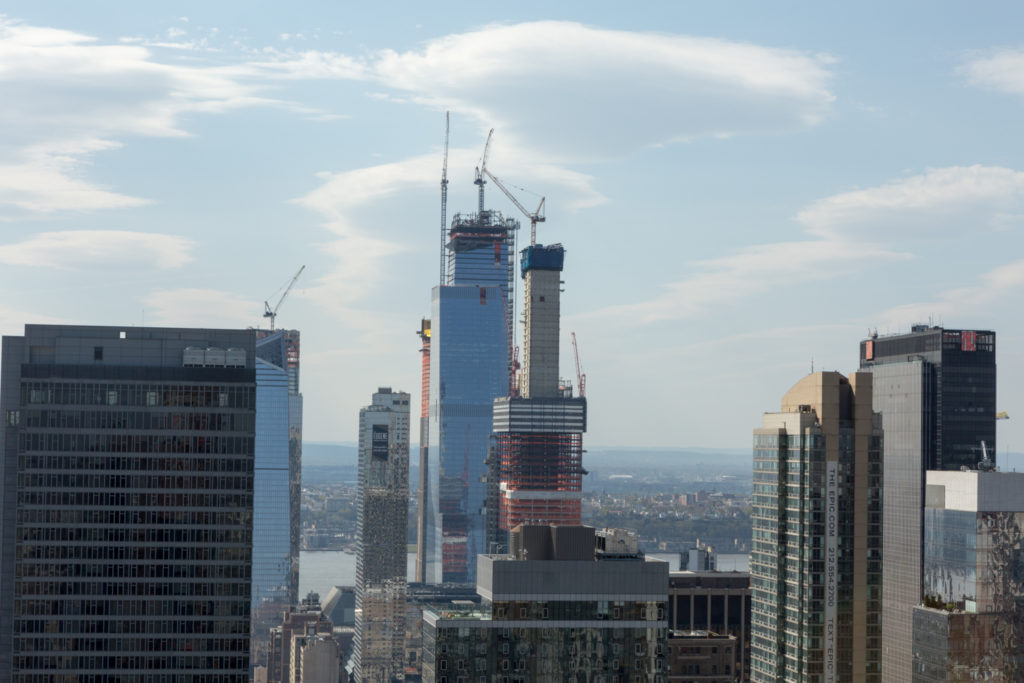 Hudson Yards from 277 Fifth Avenue, image by Andrew Nelson