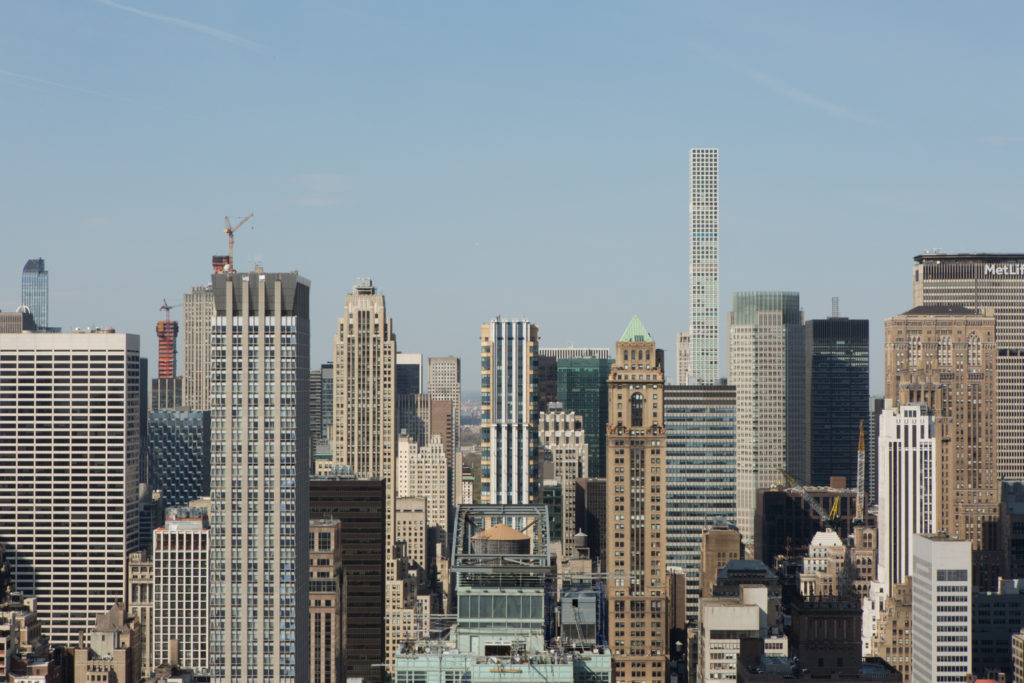 Looking northward from 277 Fifth Avenue, image by Andrew Campbell Nelson