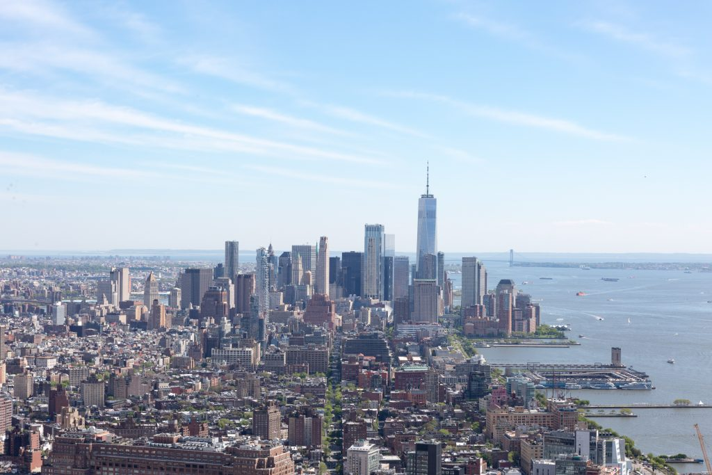 Lower Manhattan from 15 Hudson Yards, image by Andrew Campbell Nelson