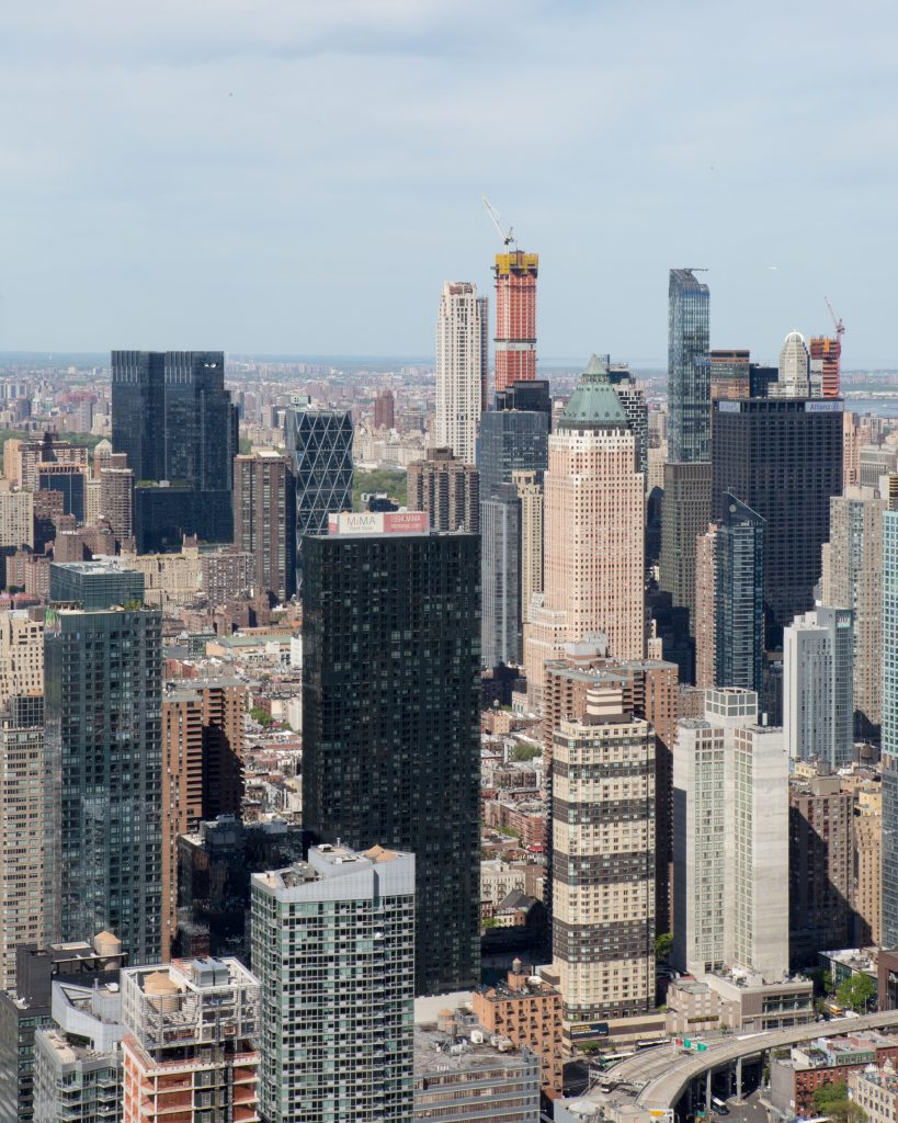 Midtown View from 15 Hudson Yards, image by Andrew Campbell Nelson