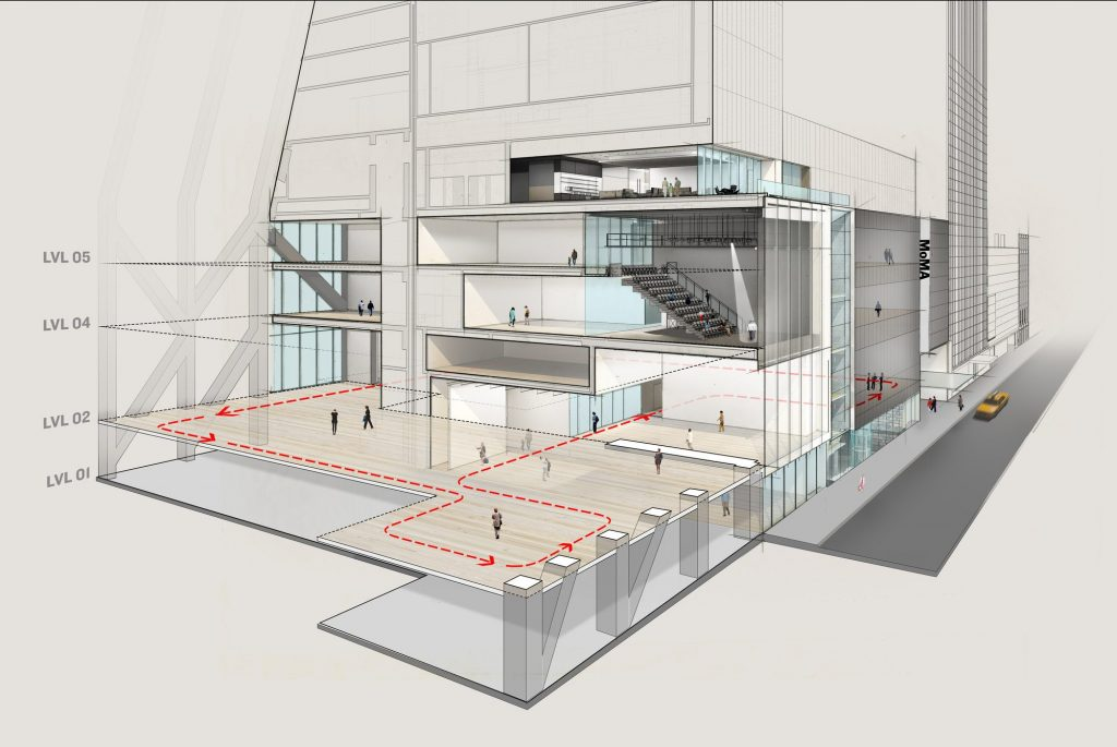 MoMA Expansion, rendering courtesy MoMA