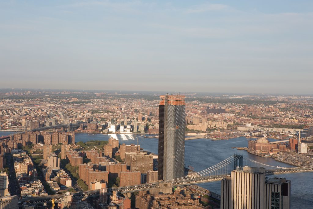One Manhattan Square from 30 Park Place, image by Andrew Campbell Nelson