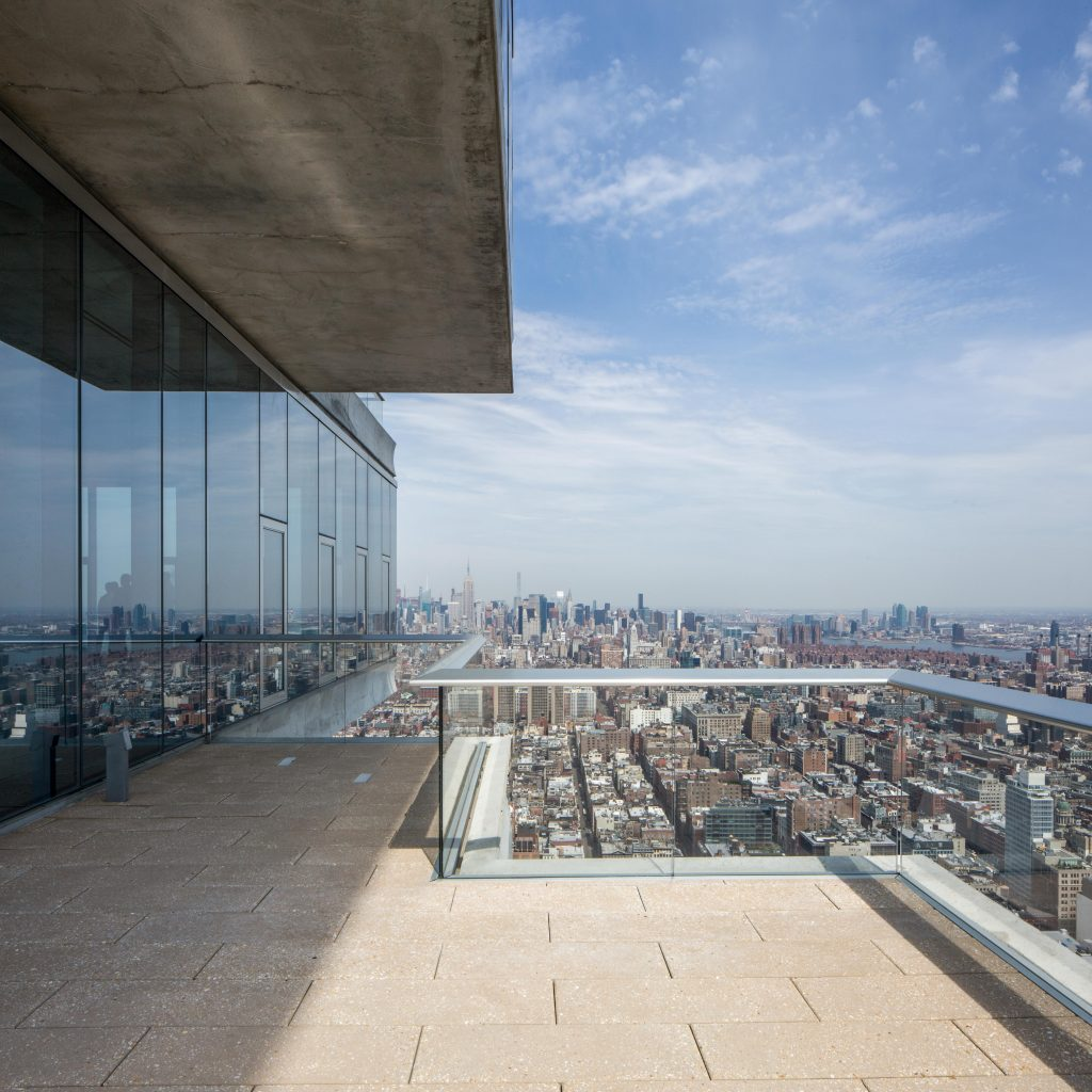 Penthouse Terrace at 56 Leonard, image by Andrew Campbell Nelson