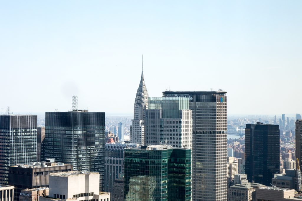 The Chrysler Building from 53W53, image by Andrew Campbell Nelson