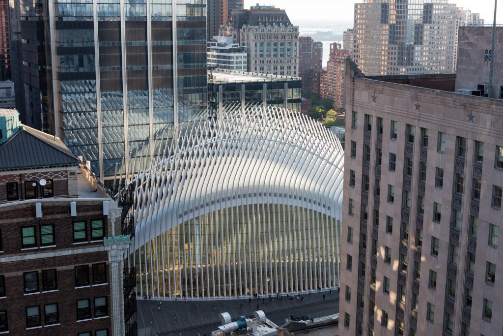 The Oculus from 30 Park Place, image by Andrew Campbell Nelson