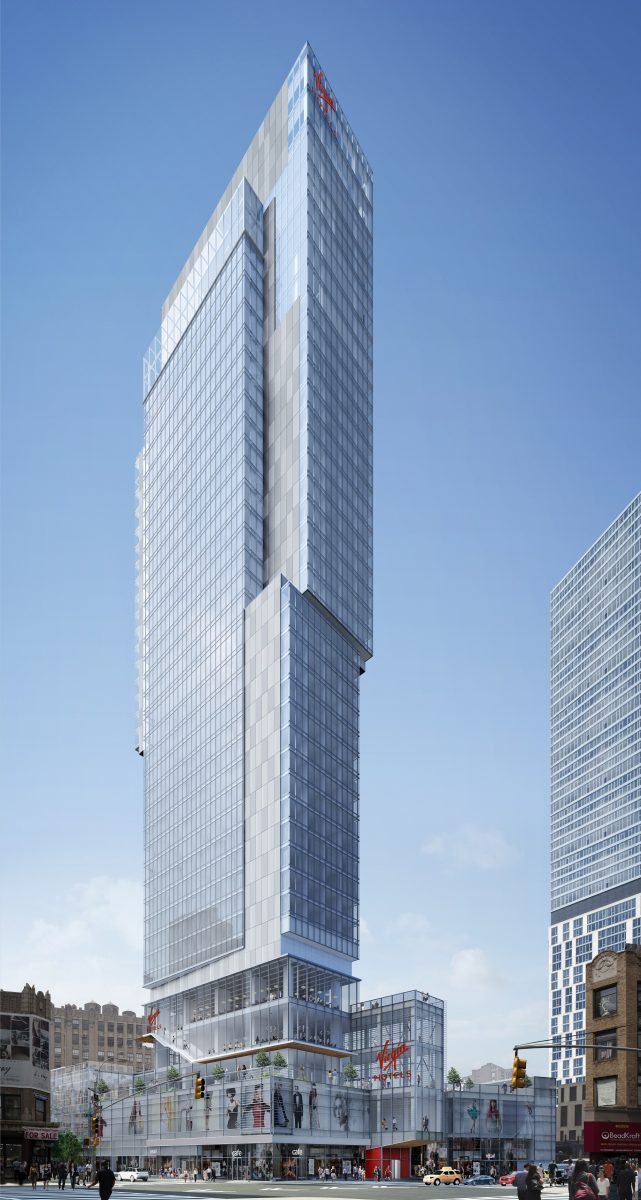 Virgin Hotel, 1225 Broadway, image from VOA Architects